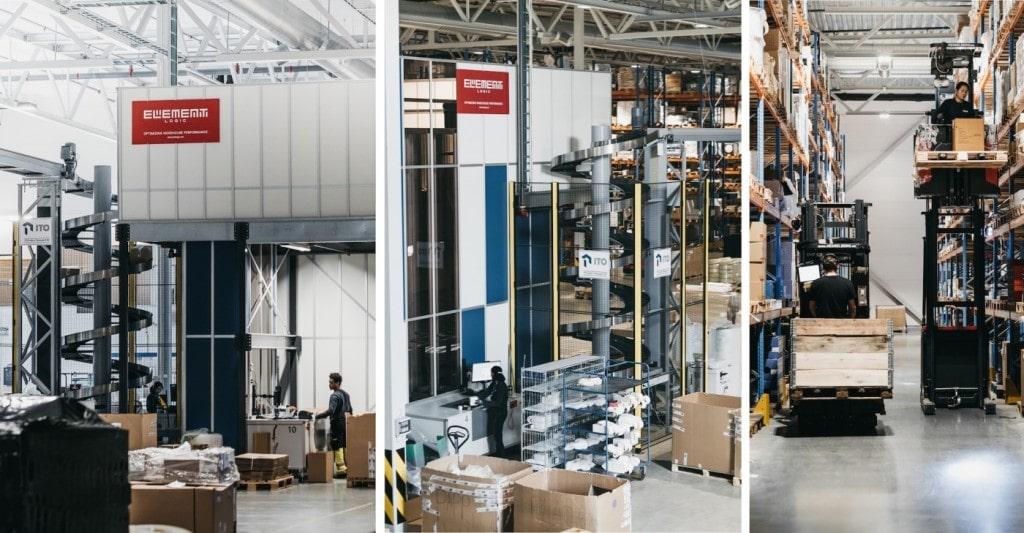 Magazyny AutoStore firmy Berggaard Amundsen zasilane na panele słoneczne
